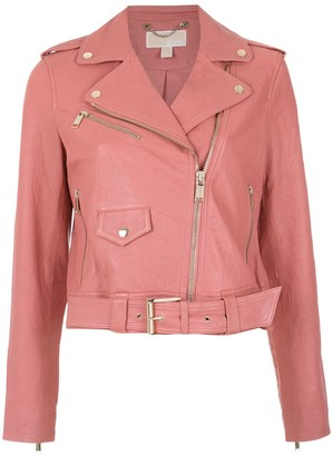 MICHAEL Michael Kors Off-Centre Zipped Jacket