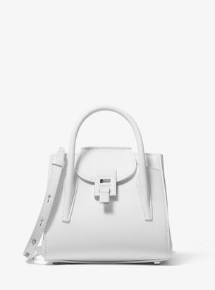 Michael Kors Bancroft Mini Leather Satchel