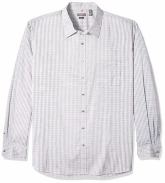 Van Heusen Men's Big Tall Slim Traveler Stretch Non Iron Long Sleeve Shirt