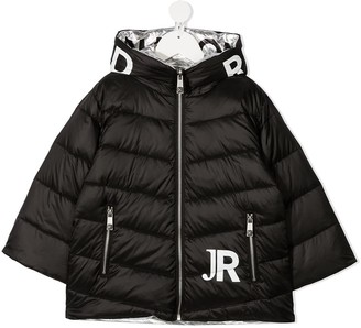 John Richmond Junior Padded Logo Jacket