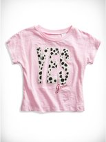 GUESS Little Girl Dalmatian YES Tee (2-6x)