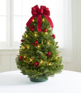 L.L. Bean Traditional Tabletop Tree, Prelit