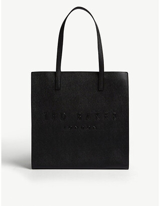 Ted Baker Icon leather tote bag