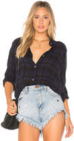 Wilt Fly Away Back Plaid Button Up in Blue. - size M (also in S,XS)