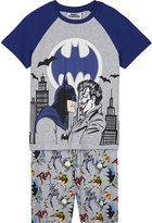 Fabric flavours Batman and The Joker print pyjama set 3-10 years