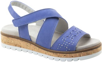 Dromedaris Adjustable Strap Leather Sandals - Reese