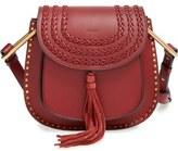 Chloé 'Small Hudson' Studded Calfskin Leather Crossbody Bag