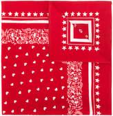 Dolce & Gabbana Sacred Heart printed bandana scarf