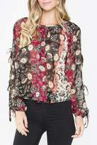 Sugar Lips Floral Print Top