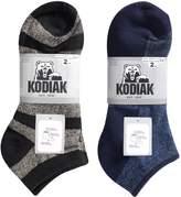 Kodiak Men's 4 Pairs of Soft All Season Low Cut Socks, US Shoe Size 7-12