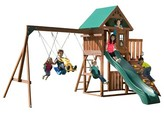 Swing-N-Slide Willows Peak Wooden Complete Play Set