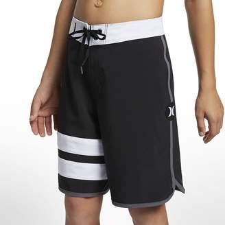 "Nike Boys' 16"" Board Shorts Hurley Phantom Block Party Solid"