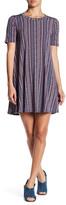 BCBGeneration A-Line Vertical Stripe Dress