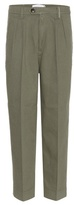 Victoria Beckham Denim Cotton trousers