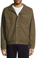 Asstd National Brand Twill Jkt Sherpa Canvas Car Coat