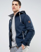 Solid Jacket With Hood