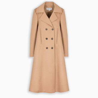 Loewe Camel A-line swing coat