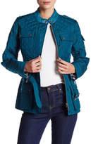 Barbour Mock Neck Quilt Jacket