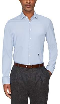 Seidensticker Men's Dress Shirt Formal Shirt Business Shirt Slim Fit Long Sleeve Collar Kent Non-Iron Striped