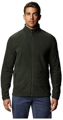 Mountain Hardwear Microchill 2.0 Jacket (Black Sage) Men's Long Sleeve Pullover