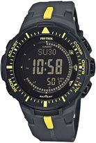 Casio Pro Trek Tough Solar Triple Sensor Mens World Time Watch PRG300-1A9CR