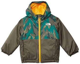 The North Face Kids Snowquest Insulated Jacket (Toddler) (Evergreen Mountain Camo Print) Kid's Coat