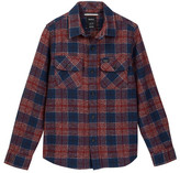 RVCA Lowland Plaid Flannel Shirt (Big Boys)