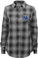 NCAA Juniors' Kentucky Wildcats Dream Plaid Shirt