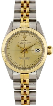Rolex Lady DateJust 26mm Silver gold and steel Watches