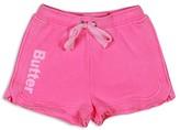 Butter Shoes Girls' Fleece Logo Shorts - Sizes S-XL