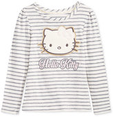 Hello Kitty Long-Sleeve Graphic-Print T-Shirt, Toddler & Little Girls (2T-6X)
