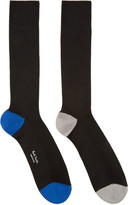 Paul Smith Black Odd Socks