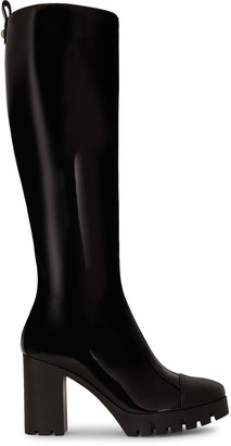 Giuseppe Zanotti Contrasting Toe-Cap Boots