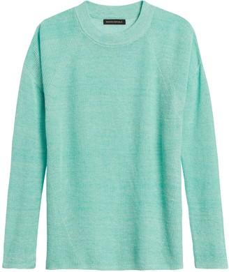 Banana Republic JAPAN EXCLUSIVE Linen Oversized Sweater