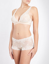Wacoal Embrace Lace stretch-lace soft-cup bra