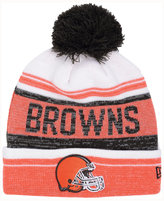 New Era Cleveland Browns Snow Dayz Knit Hat, A Macy's Exclusive Style