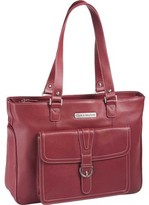 "Clark & Mayfield Stafford Pro Leather Laptop Tote 15.6"" (Women's)"