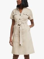Boden Cecily Mini Dress, Soft Stone