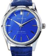 Seiko Fairway Stainless Steel & Leather Manual 43mm Mens Watch c1960