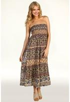 DEPT - Convertible Floral Viscose Skirt/Dress