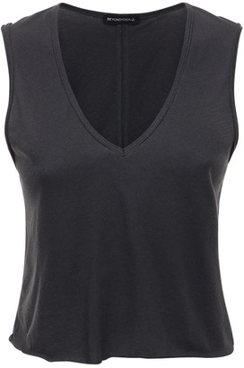 Beyond Yoga In The Fray Cropped Tank Top