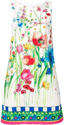 Blugirl watercolour floral print shift dress
