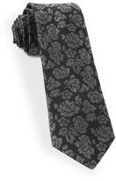 The Tie Bar Paisley Printed Silk Tie