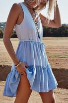 Rails Denim Colorblock Dress