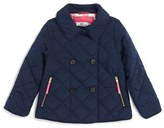 Vineyard Vines Toddler Girl's Quilted Barn Coat