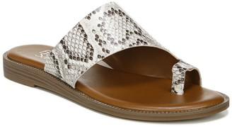 Franco Sarto Gem Snakeskin Embossed Sandal