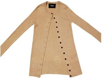 Dolce & Gabbana Gold Knitwear for Women