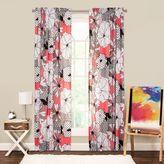Crayola Flower Patch 84-Inch Rod Pocket Window Curtain Panel