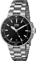 Oris Women's 73376524154MB Divers Stainless Steel Dial Watch