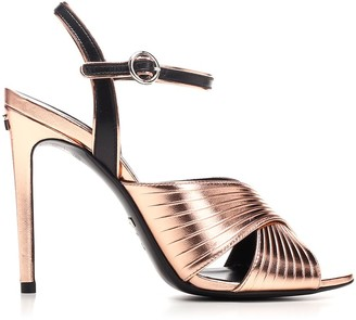 Gucci Ankle Strap Heel Sandals